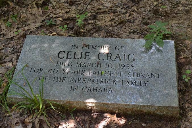 Celie Craig Headstone
